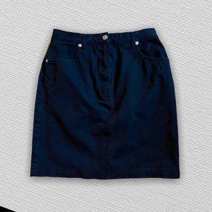 Mondi Sports Black Denim Skirt